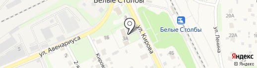 Территориальный отдел микрорайонов Белые столбы и Барыбино на карте Домодедово