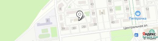 Магазин автозапчастей на карте Котельников
