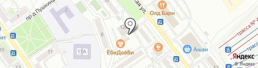 Финансово-строительная компания, МУП на карте Дзержинского