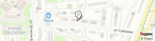 Жилсервис на карте Королёва