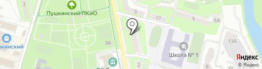 Московское областное отделение КПРФ на карте Пушкино