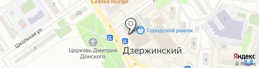 Орхидея на карте Дзержинского