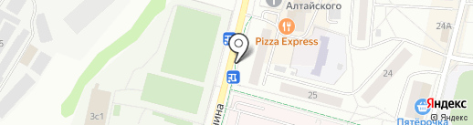Центр прессы, ЗАО на карте Дзержинского