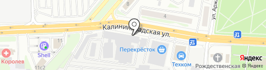 АвантПак на карте Королёва