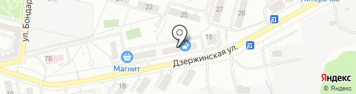 МосОблЕИРЦ на карте Дзержинского
