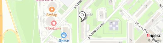 Мировые судьи Реутовского района на карте Реутова