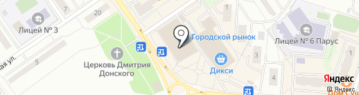 Журавлик на карте Дзержинского