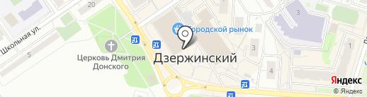 Умелец на карте Дзержинского