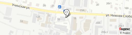 ПакСервис на карте Пушкино
