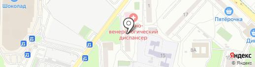 Кожно-венерологический диспансер на карте Реутова