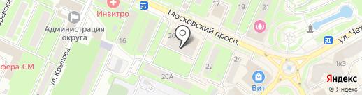 Тофа на карте Пушкино