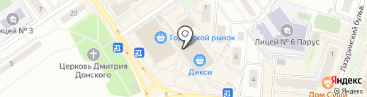 Красотка на карте Дзержинского