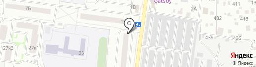 Эконом-парикмахерская на карте Королёва