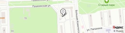 Серпик на карте Королёва