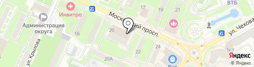 Ipochino на карте Пушкино