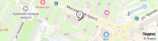 Миавто на карте Пушкино