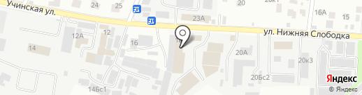 MEBVAN.RU на карте Пушкино