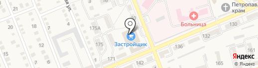 Застройщик на карте Ясиноватой