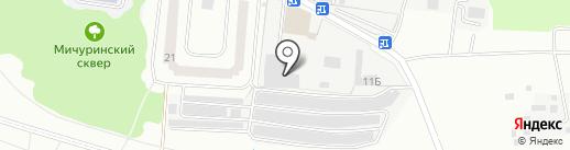 ПРИБОР на карте Королёва