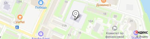 Детский сад №1 на карте Пушкино