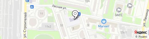 Детский сад №7, НАДЕЖДА на карте Реутова