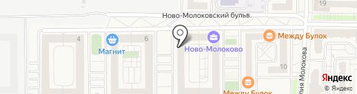 Молоковская участковая больница на карте Молоково