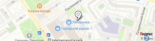 ДАР на карте Дзержинского