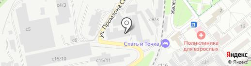 Пнеуматика.ру на карте Котельников