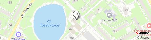Иридиус на карте Пушкино