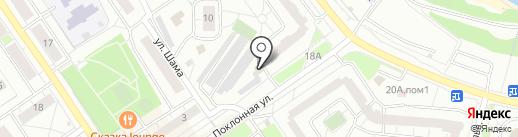 Магазин автозапчастей для иномарок на карте Дзержинского