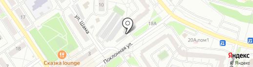 Фонбет на карте Дзержинского