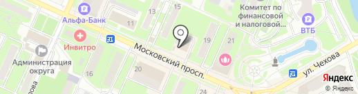 Штирлиц на карте Пушкино