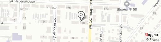 Опорный пункт №43 на карте Макеевки