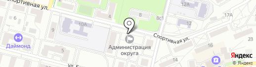 Совет депутатов г. Дзержинского на карте Дзержинского