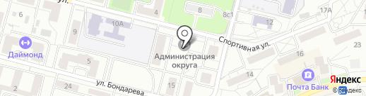 Администрация городского округа Дзержинский на карте Дзержинского