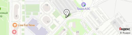 Гаражно-строительный кооператив №6 на карте Реутова