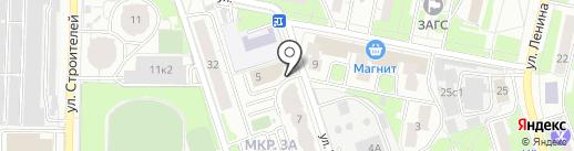 Управление опеки и попечительства на карте Реутова