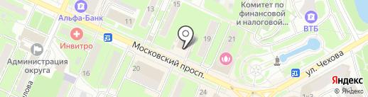Салон штор на карте Пушкино