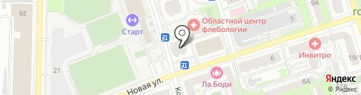 Магазин штор на карте Реутова