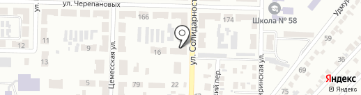 Участковый пункт милиции №43 на карте Макеевки