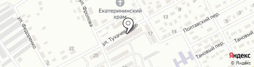 Їжачок на карте Макеевки