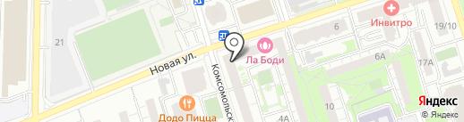 Самая Самая на карте Реутова