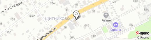Burger King на карте Балашихи