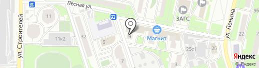 Кадастровая палата по Московской области на карте Реутова