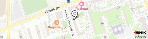 Ixtys на карте Реутова