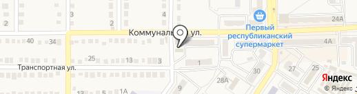 Огонек на карте Ясиноватой