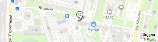Mrs.Бигуди на карте Реутова