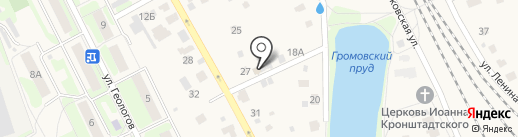Фазенда на карте Домодедово