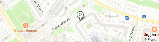 Ласка на карте Дзержинского