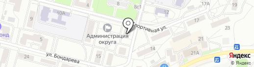 Окна Стрит на карте Дзержинского